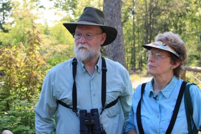 Landowners Mike and Laura Jackson