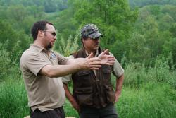 Conservation professional and private landowner