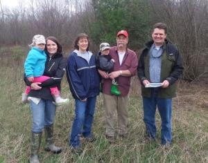 Wisconsin family makes young forest